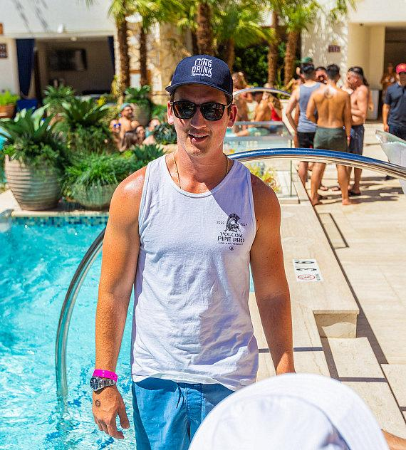 """Actor Miles Teller's Weekend of """"Kaos"""" at His Bachelor Party at Palms Casino Resort in Vegas"""