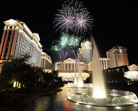 Caesars Palace Honors 50-Year Daredevil Legacy with Night Jump by The Red Bull Air Force, Appearance by Robbie Knievel and Performance by Taylor Hicks on Sunday, July 3