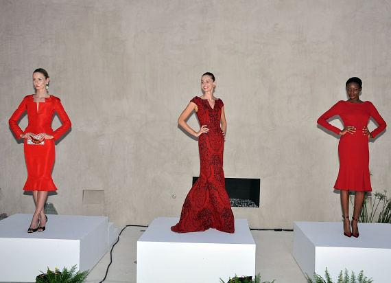 Gowns from Zac Posen's Spring/Fall 2012 Collection available at Neiman Marcus