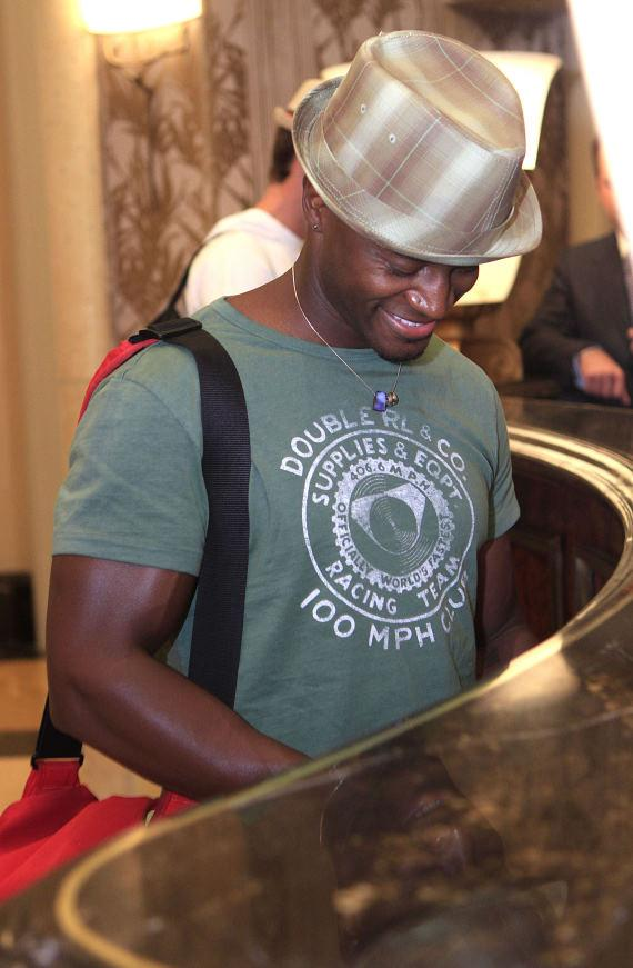 Actor Taye Diggs at The Palazzo