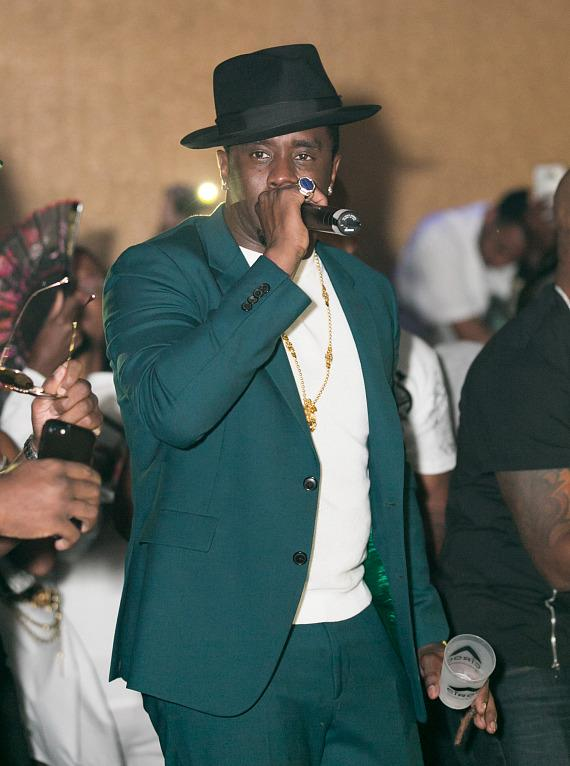 Puff Daddy at Vanity Nightclub