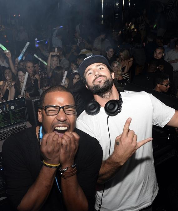 Brody Jenner and William Lifestyle  at 1 OAK Nightclub