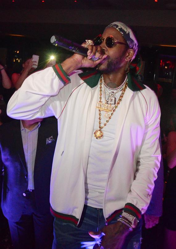 2 Chainz celebrated his new album at 1 OAK Las Vegas