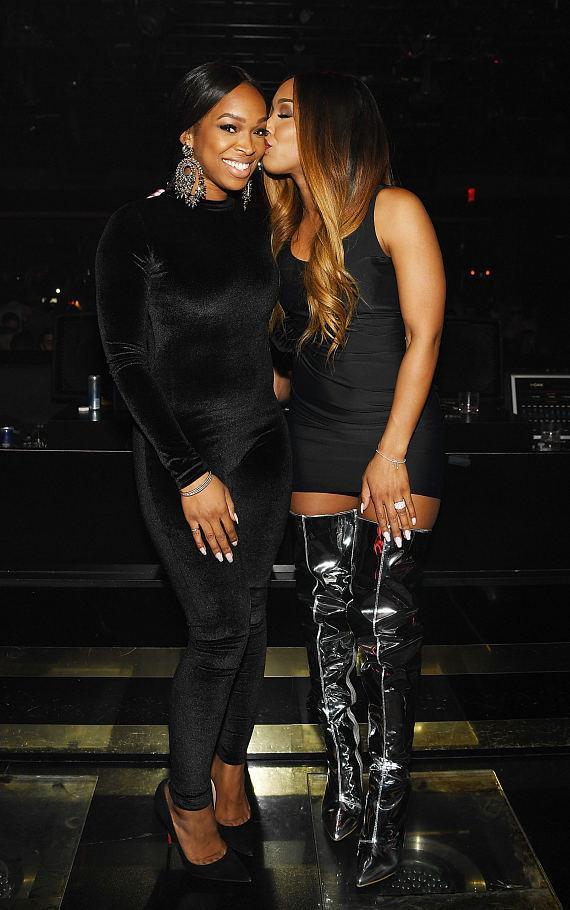 Khadijah and Malika Haqq at 1 OAK