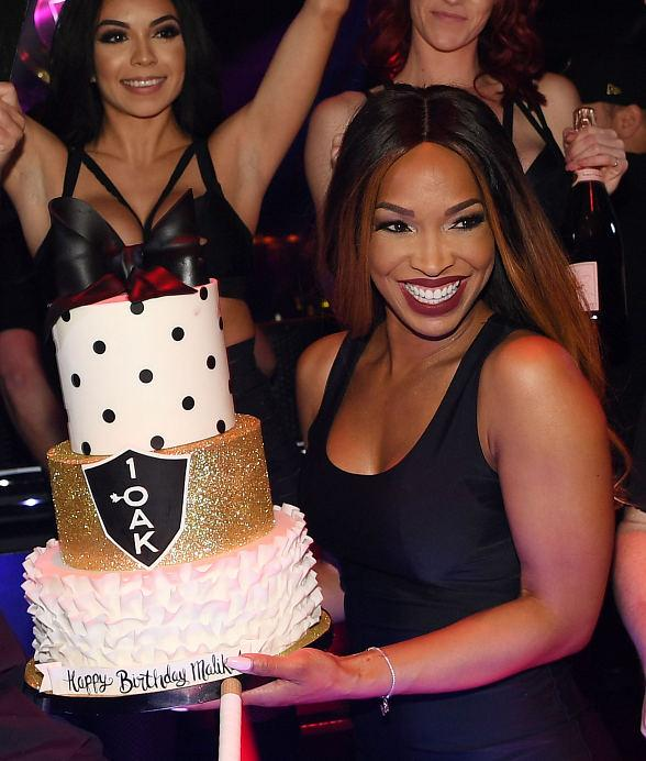 Malika Haqq Celebrates Birthday at 1 OAK Las Vegas