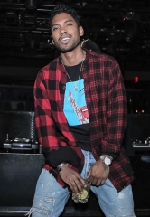 Miguel Hosts Night Out at 1 OAK Las Vegas in The Mirage
