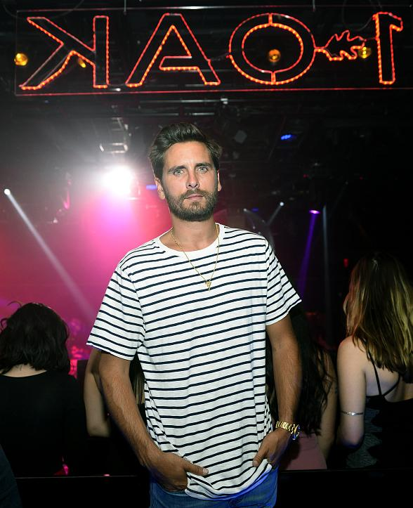 Scott Disick Celebrates Birthday at 1 OAK Nightclub Las Vegas
