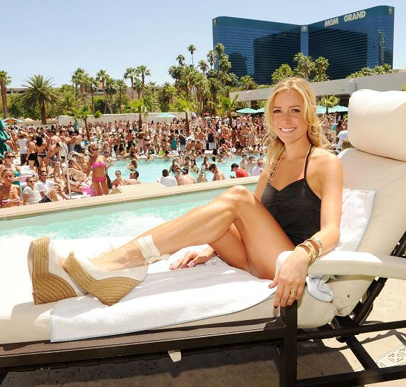 """The Hills"" Kristin Cavallari at WET REPUBLIC"