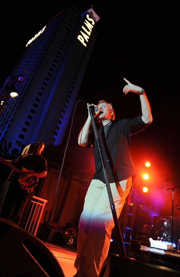 The Spin Doctors perform poolside at The Palms Casino Resort