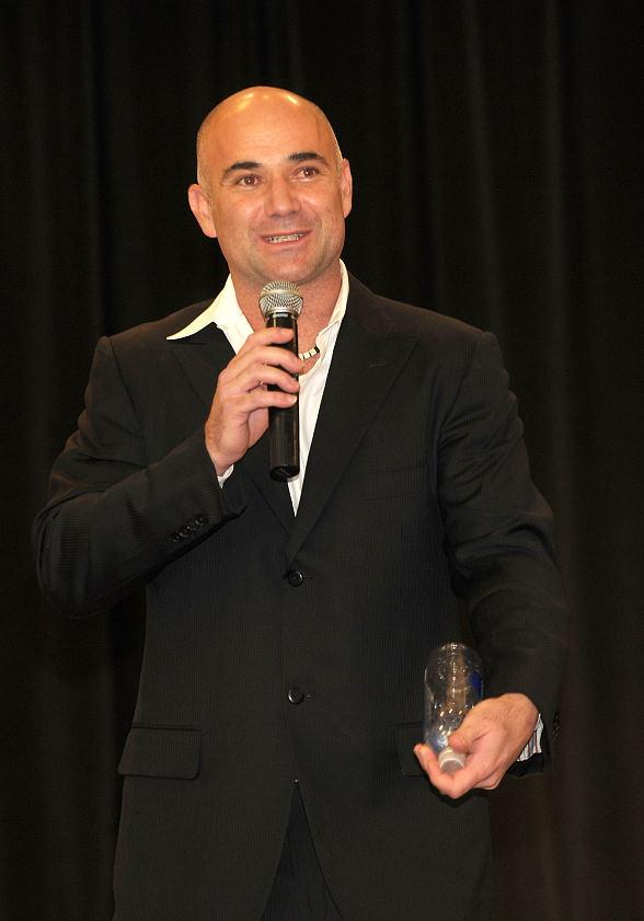 Andre Agassi at 2010 Andre Agassi Grand Slam For Children