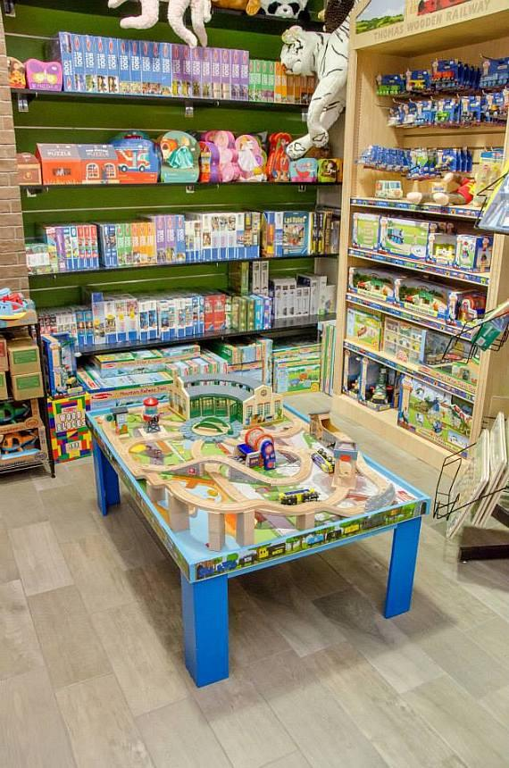 Toys for young children at The Toy Box