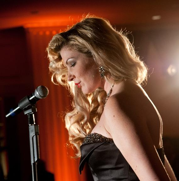 """Emily West of """"America's Got Talent"""" performs at DJT Lounge at Trump Int'l Hotel Las Vegas"""
