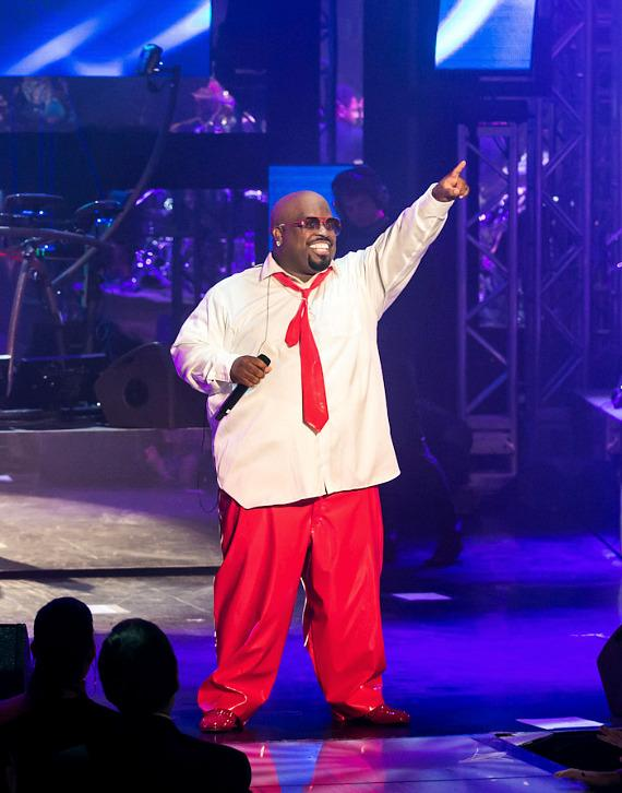 "Cee Lo Green performs in ""Cee Lo and Friends"" at Planet Hollywood Resort & Casino"