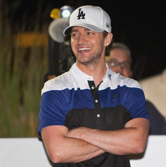 Justin Timberlake attempts hole-in-one for $1 Million donation to Shriners Hospitals for Children
