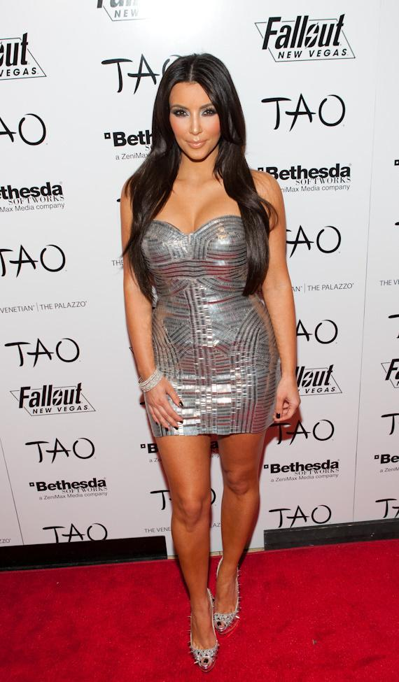 Kim Kardashian celebrates her 30th birthday at TAO in Las Vegas