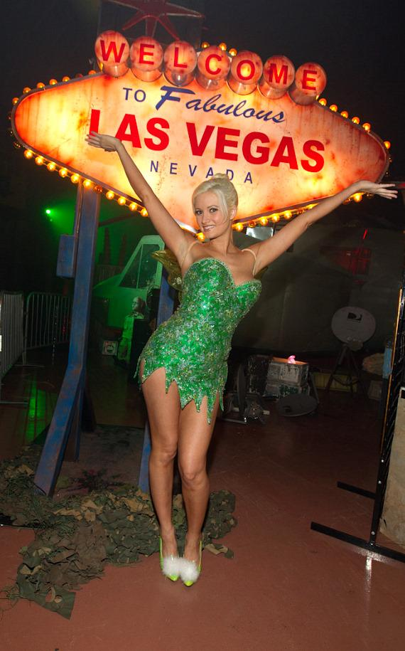 Holly Madison at Fright Dome at Circus Circus in Las Vegas