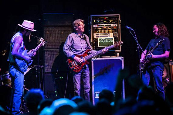 Phil Lesh and Friends perform at Brooklyn Bowl Las Vegas