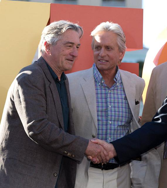 Robert De Niro and Michael Douglas