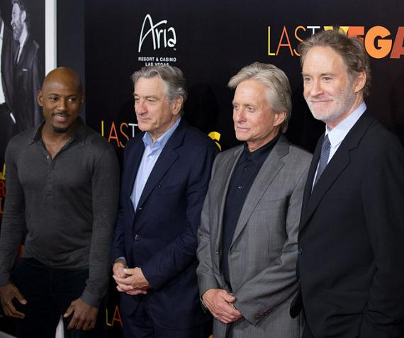Romany Malco with De Niro, Douglas and Kline at HAZE Nightclub in Las Vegas