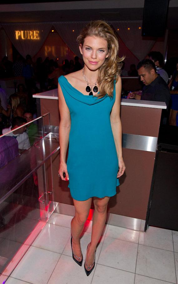 AnnaLynne McCord in PURE Nightclub