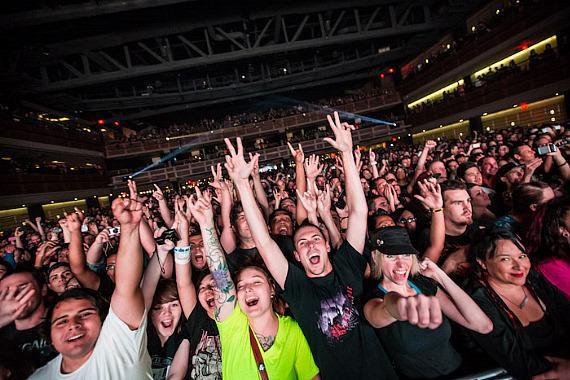 Rise Against Performs at The Joint at Hard Rock Hotel & Casino in Las Vegas