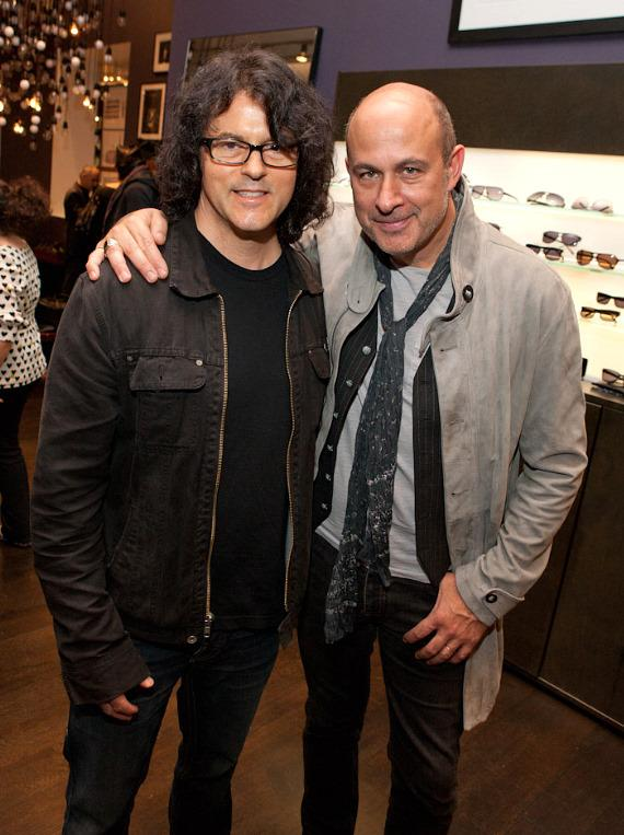 Chef Kerry Simon and John Varvatos