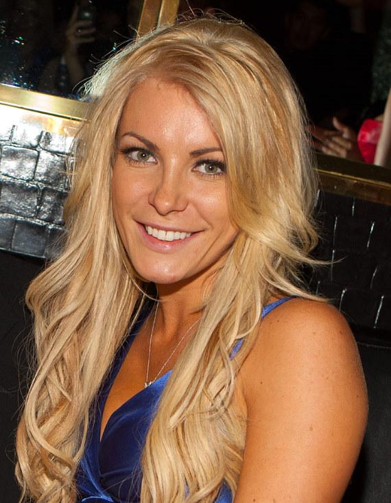 Crystal Harris at the Playboy Club in Las Vegas in November, 2010
