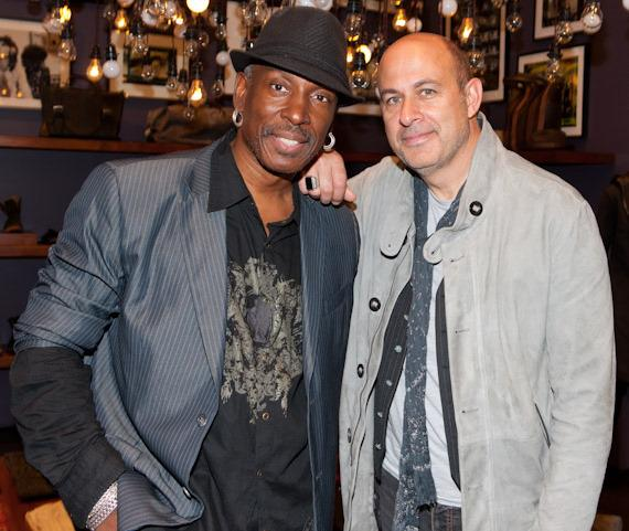 Jerry Metellus and John Varvatos