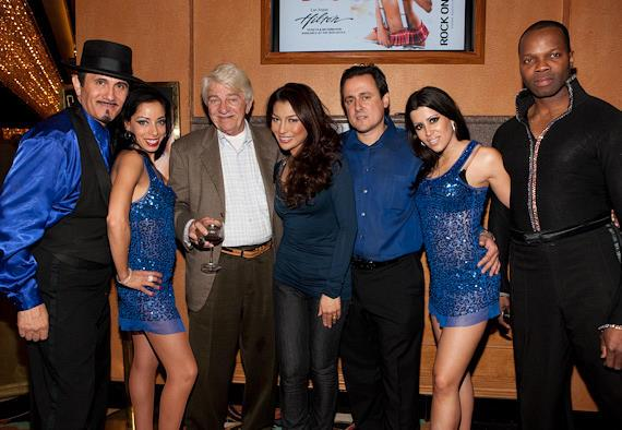 The Voices cast with star of the show Lani Misalucha (center), Seymour Cassel and Angelo Giordano