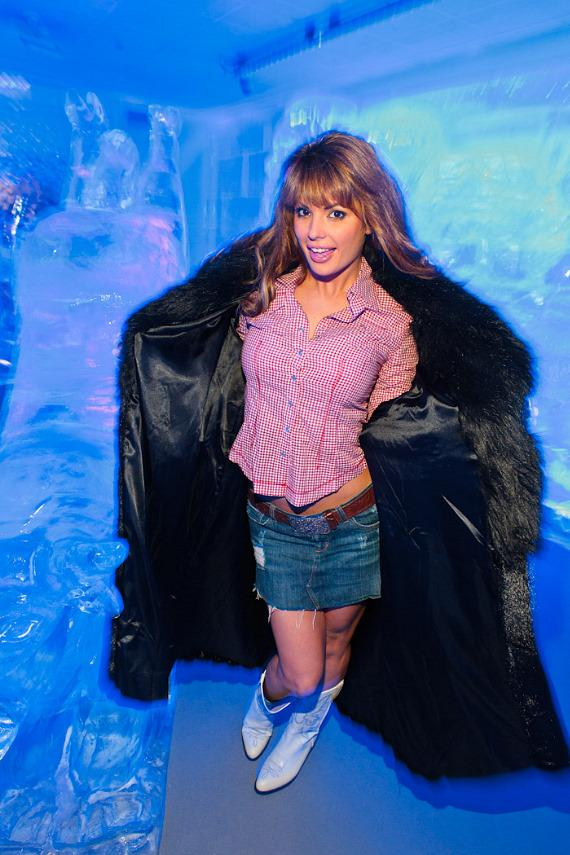 Laura Croft at Minus5 Ice Bar