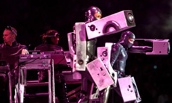 Black Eyed Peas in concert