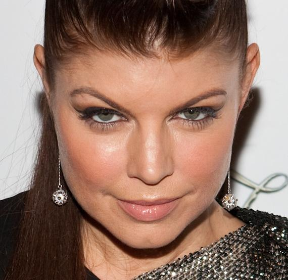 Fergie at Black Eyed Peas concert after party at The Bank