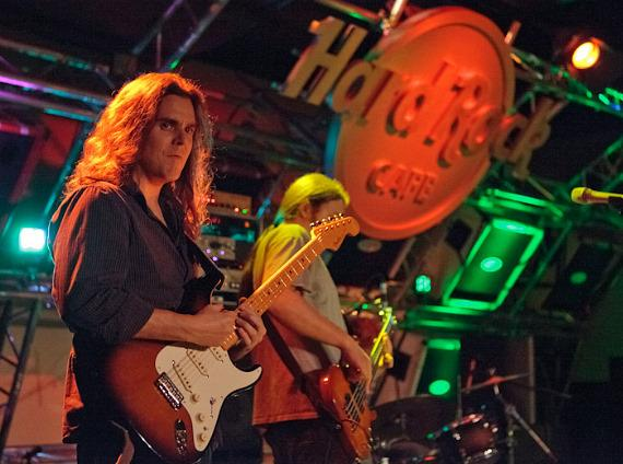 Moksha performs at the Hard Rock Cafe in Las Vegas