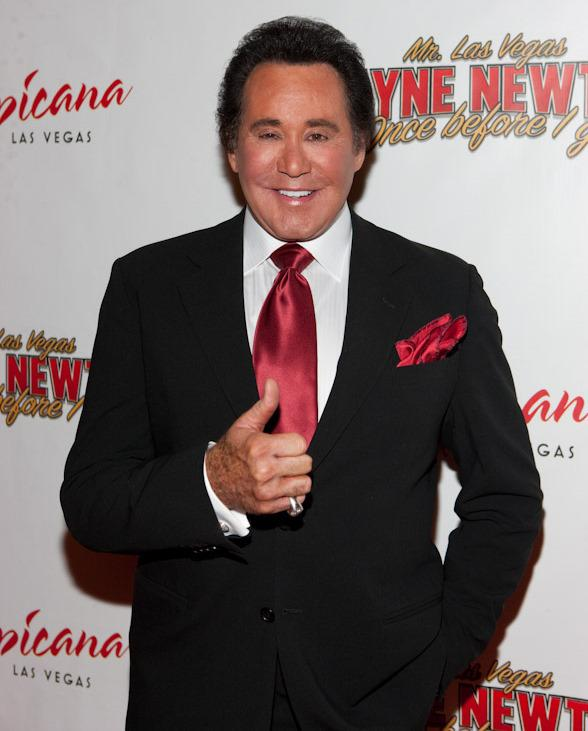 Celebrities Arrive for Wayne Newton's 'Once Before I Go' Grand Opening at Tropicana
