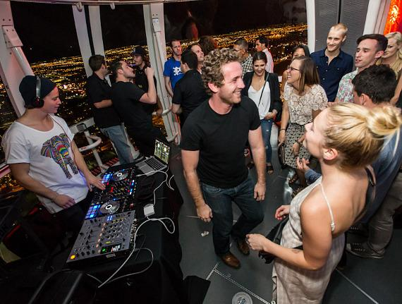 KYGO performs in The High Roller at The LINQ Las Vegas