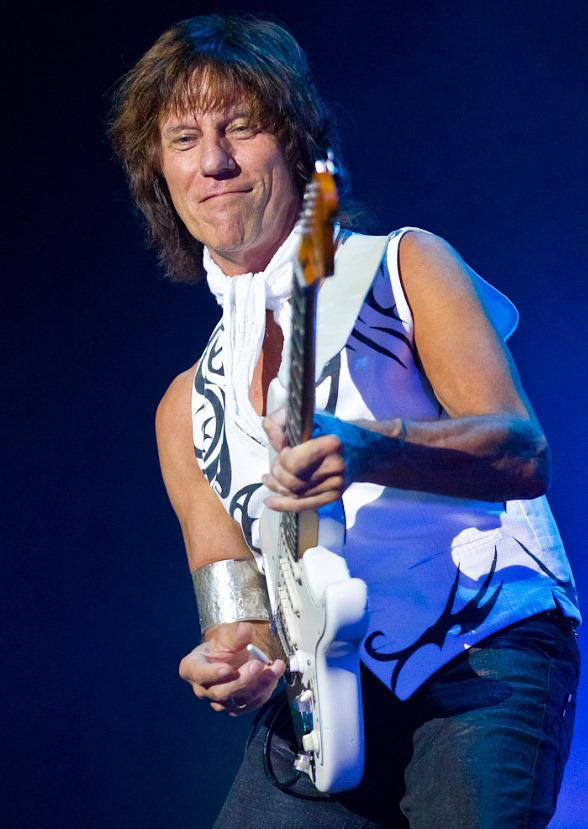 Jeff Beck performs at Caesarea in Israel