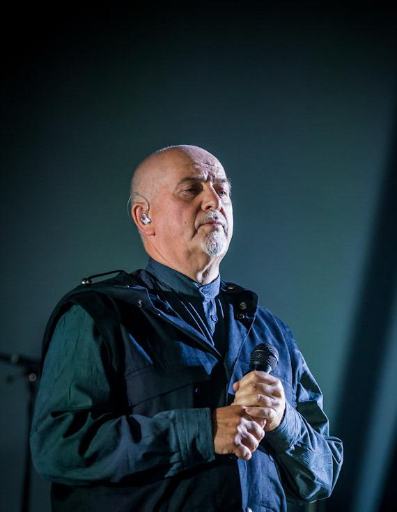 Peter Gabriel performs at Planet Hollywood Resort in Las Vegas