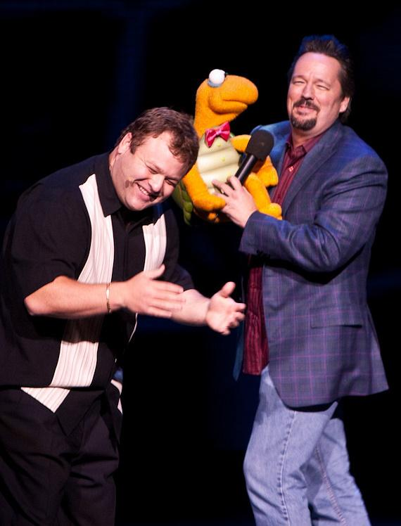 Frank Caliendo and Terry Fator