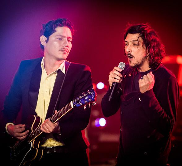 Alternative Rock Band Zoé Performs at The Joint at Hard Rock Hotel & Casino