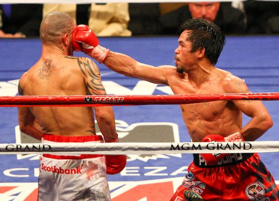Pacquiao TKO's Cotto in 12th round in Las Vegas