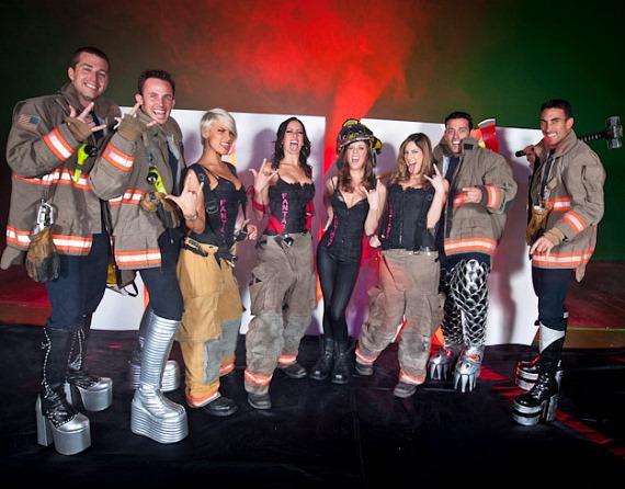 Las Vegas Valley Fireman and Fantasy Girls of Luxor
