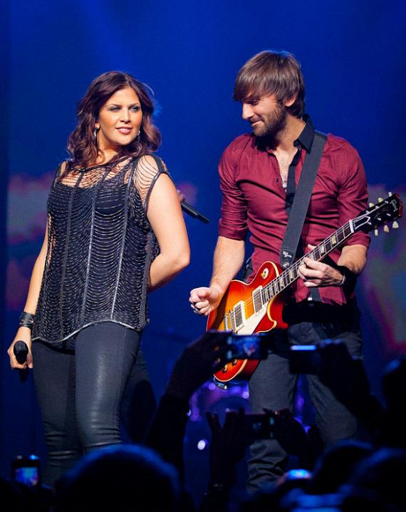 Lady Antebellum perform at The Joint