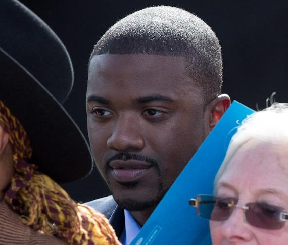 Ray J at President Barack Obama rally in Las Vegas