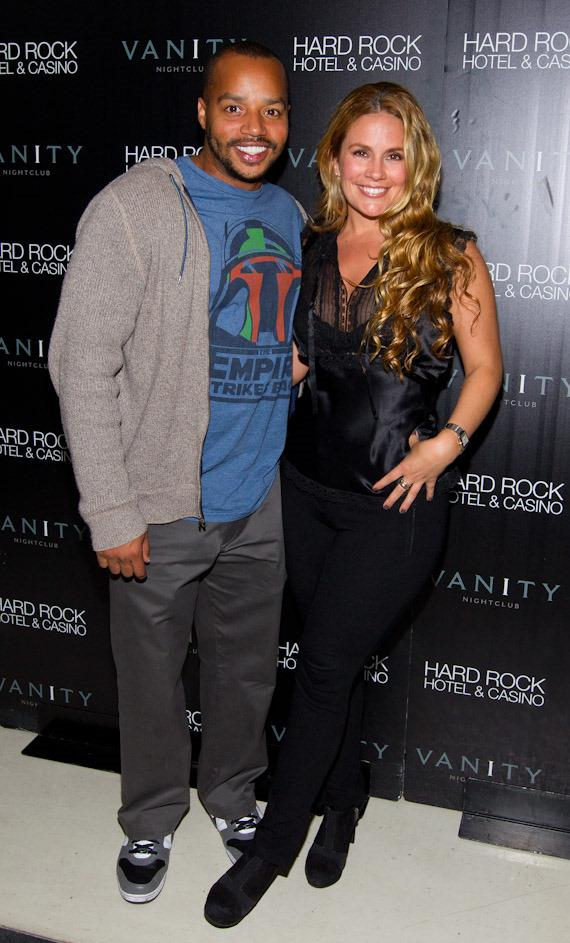 Donald Faison and girlfriend CaCee Cobb