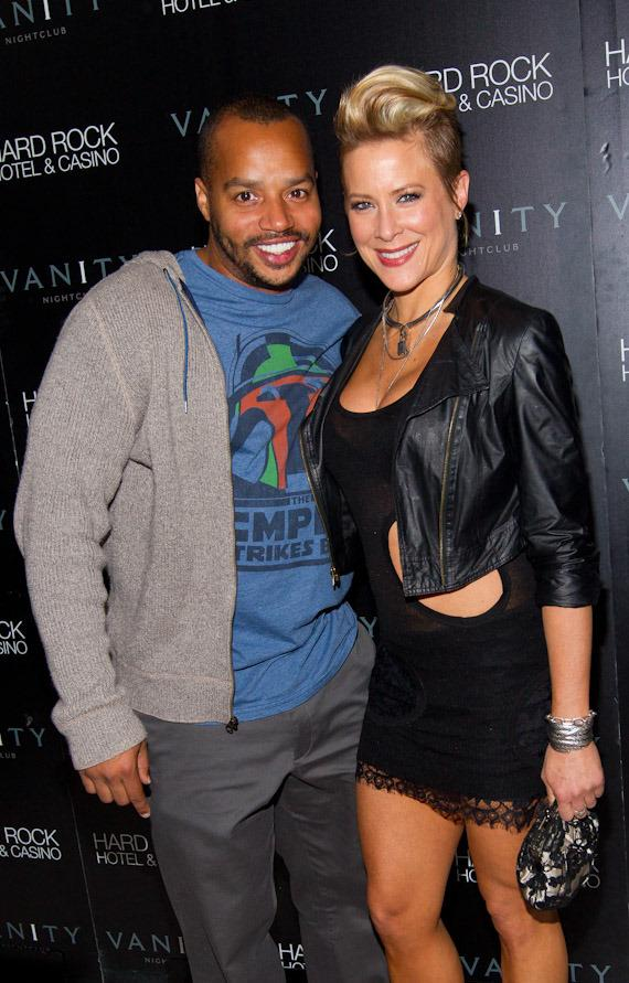 Donald Faison and Brittany Daniel