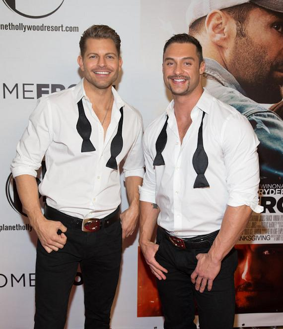 Jaymes and James of Chippendales