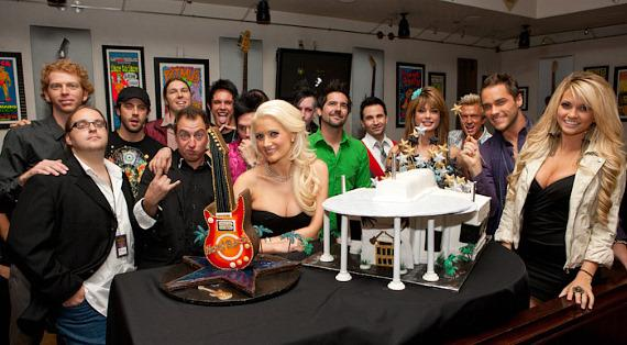Holly Madison with Moksha, Ricardo Laguna, Recycled Percussion, Dan Sperry, Travis Cloer, Laura Croft, Chris Phillips, Josh Strickland and Angel Porrino