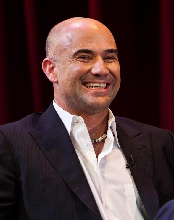Andre Agassi discusses his new book