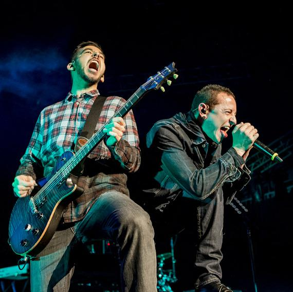 Linkin Park performs at The Joint at Hard Rock Hotel Las Vegas