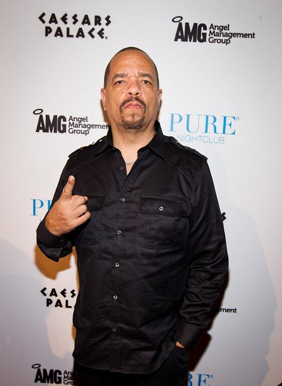 Ice-T on red carpet at PURE Nightclub